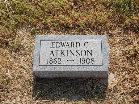 ATKINSON, EDWARD C - Alfalfa County, Oklahoma | EDWARD C ATKINSON - Oklahoma Gravestone Photos