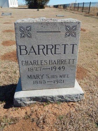 BARRETT, CHARLES - Alfalfa County, Oklahoma | CHARLES BARRETT - Oklahoma Gravestone Photos