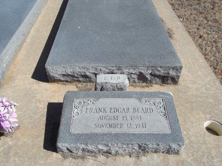 BEARD, FRANK EDGAR - Alfalfa County, Oklahoma   FRANK EDGAR BEARD - Oklahoma Gravestone Photos