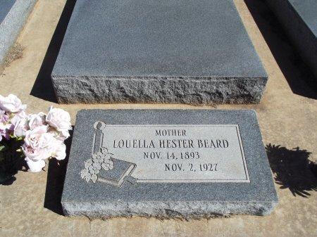 MASTERS BEARD, LOUELLA HESTER - Alfalfa County, Oklahoma | LOUELLA HESTER MASTERS BEARD - Oklahoma Gravestone Photos