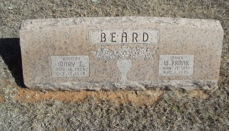 BEARD, MARY E - Alfalfa County, Oklahoma | MARY E BEARD - Oklahoma Gravestone Photos