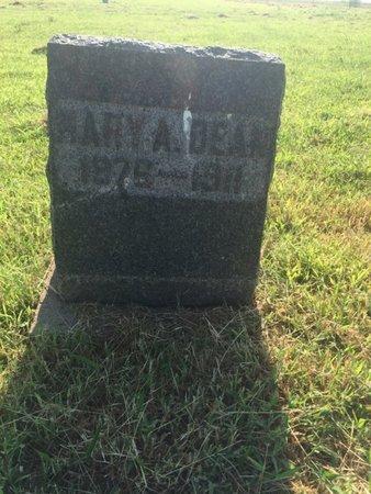 DEAN, MARY A - Alfalfa County, Oklahoma | MARY A DEAN - Oklahoma Gravestone Photos