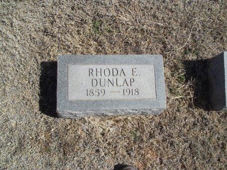 DUNLAP, RHODA E - Alfalfa County, Oklahoma | RHODA E DUNLAP - Oklahoma Gravestone Photos