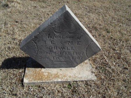 DUVALL, INFANT SON - Alfalfa County, Oklahoma | INFANT SON DUVALL - Oklahoma Gravestone Photos