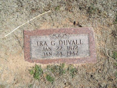DUVALL, IRA G - Alfalfa County, Oklahoma | IRA G DUVALL - Oklahoma Gravestone Photos