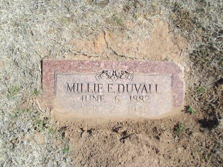 DRUMM DUVALL, MILLIE E - Alfalfa County, Oklahoma | MILLIE E DRUMM DUVALL - Oklahoma Gravestone Photos