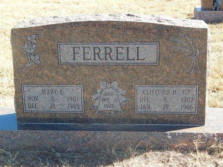FERRELL, MARY E - Alfalfa County, Oklahoma | MARY E FERRELL - Oklahoma Gravestone Photos