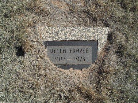 FRAZEE, VELLA - Alfalfa County, Oklahoma   VELLA FRAZEE - Oklahoma Gravestone Photos