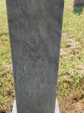 HELT, COY N - Alfalfa County, Oklahoma | COY N HELT - Oklahoma Gravestone Photos