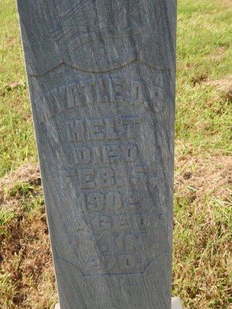 HELT, MYRTLE D S - Alfalfa County, Oklahoma | MYRTLE D S HELT - Oklahoma Gravestone Photos