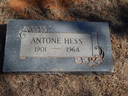 HESS, ANTONE - Alfalfa County, Oklahoma | ANTONE HESS - Oklahoma Gravestone Photos