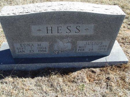 HESS, EDNA M - Alfalfa County, Oklahoma | EDNA M HESS - Oklahoma Gravestone Photos