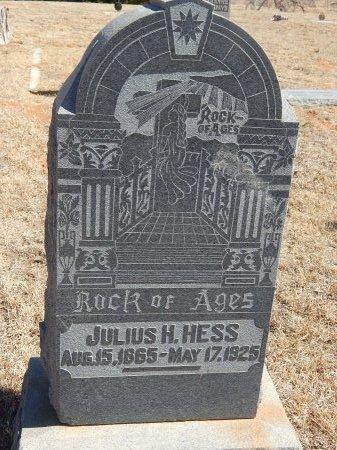 HESS, JULIUS H - Alfalfa County, Oklahoma   JULIUS H HESS - Oklahoma Gravestone Photos