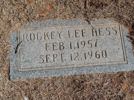 HESS, ROCKEY LEE - Alfalfa County, Oklahoma | ROCKEY LEE HESS - Oklahoma Gravestone Photos