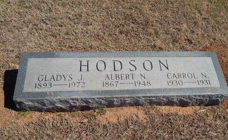 HODSON, CARROL N - Alfalfa County, Oklahoma | CARROL N HODSON - Oklahoma Gravestone Photos