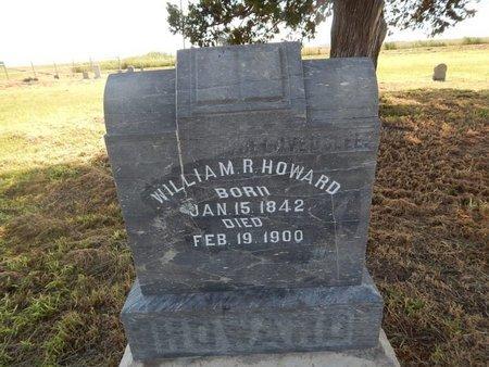 HOWARD, WILLIAM R - Alfalfa County, Oklahoma   WILLIAM R HOWARD - Oklahoma Gravestone Photos