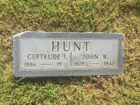 HUNT, JOHN W - Alfalfa County, Oklahoma | JOHN W HUNT - Oklahoma Gravestone Photos