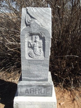 LABRUE, MABEL M - Alfalfa County, Oklahoma   MABEL M LABRUE - Oklahoma Gravestone Photos