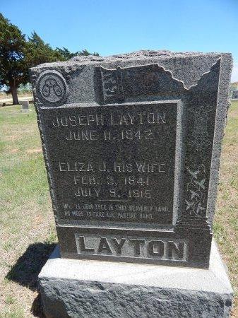 LAYTON, JOSEPH - Alfalfa County, Oklahoma | JOSEPH LAYTON - Oklahoma Gravestone Photos