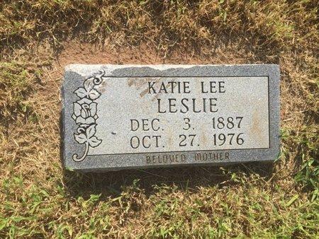 LESLIE, KATIE LEE - Alfalfa County, Oklahoma   KATIE LEE LESLIE - Oklahoma Gravestone Photos