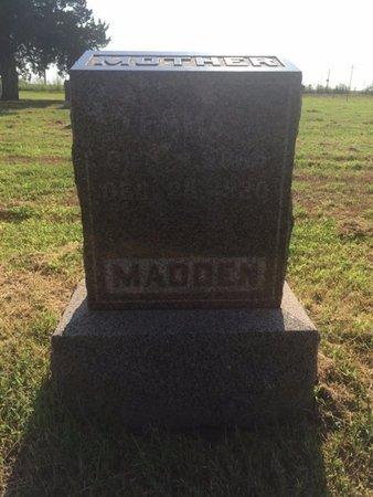 MADDEN, EMMA J - Alfalfa County, Oklahoma | EMMA J MADDEN - Oklahoma Gravestone Photos