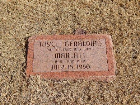 MARLATT, JOYCE GERALDINE - Alfalfa County, Oklahoma | JOYCE GERALDINE MARLATT - Oklahoma Gravestone Photos