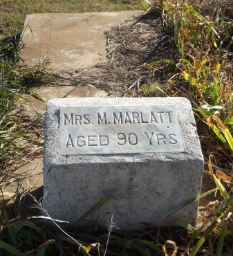 MARLATT, M (MRS) - Alfalfa County, Oklahoma | M (MRS) MARLATT - Oklahoma Gravestone Photos
