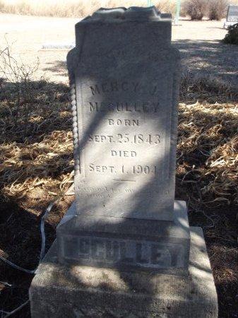 MCCULLEY, MERCY J - Alfalfa County, Oklahoma   MERCY J MCCULLEY - Oklahoma Gravestone Photos