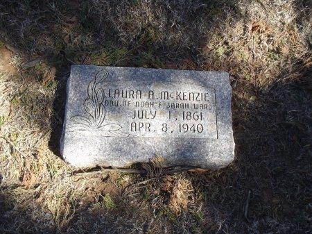 WARD MCKENZIE, LAURA A - Alfalfa County, Oklahoma | LAURA A WARD MCKENZIE - Oklahoma Gravestone Photos