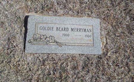 MERRYMAN, GOLDIE - Alfalfa County, Oklahoma | GOLDIE MERRYMAN - Oklahoma Gravestone Photos