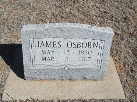 OSBORN, JAMES - Alfalfa County, Oklahoma | JAMES OSBORN - Oklahoma Gravestone Photos