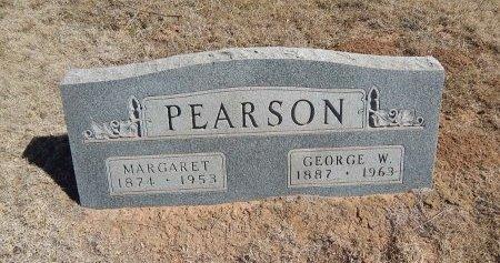 PEARSON, GEORGE W - Alfalfa County, Oklahoma | GEORGE W PEARSON - Oklahoma Gravestone Photos