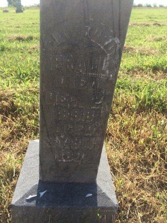 PRALL, CLIFFORD - Alfalfa County, Oklahoma | CLIFFORD PRALL - Oklahoma Gravestone Photos