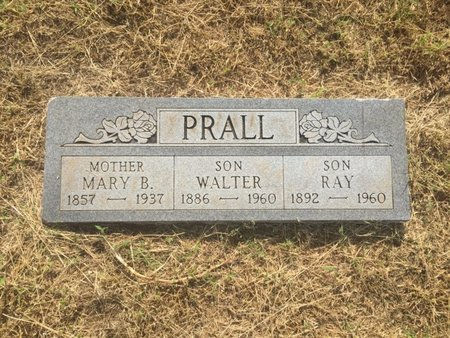 PRALL, RAY - Alfalfa County, Oklahoma | RAY PRALL - Oklahoma Gravestone Photos