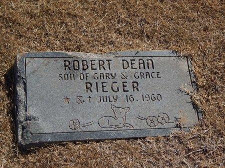 RIEGER, ROBERT DEAN - Alfalfa County, Oklahoma | ROBERT DEAN RIEGER - Oklahoma Gravestone Photos