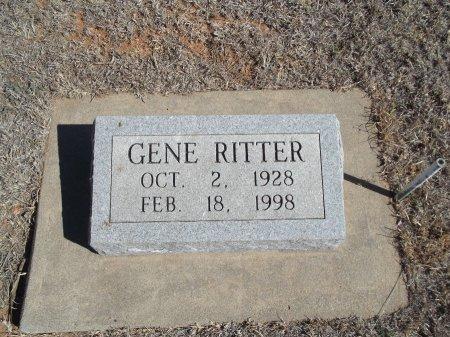 RITTER, GENE - Alfalfa County, Oklahoma | GENE RITTER - Oklahoma Gravestone Photos