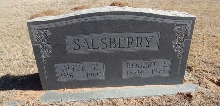 SALSBERRY, ROBERT E - Alfalfa County, Oklahoma | ROBERT E SALSBERRY - Oklahoma Gravestone Photos