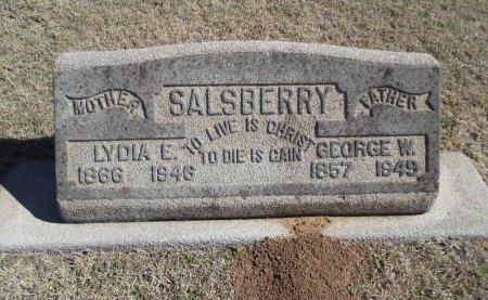 PEARSON SALSBERRY, LYDIA E - Alfalfa County, Oklahoma | LYDIA E PEARSON SALSBERRY - Oklahoma Gravestone Photos