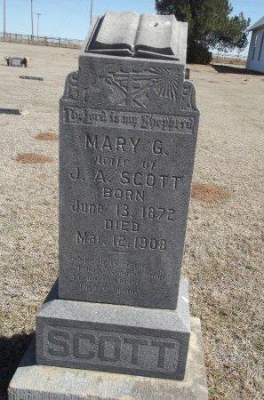SCOTT, MARY G - Alfalfa County, Oklahoma | MARY G SCOTT - Oklahoma Gravestone Photos