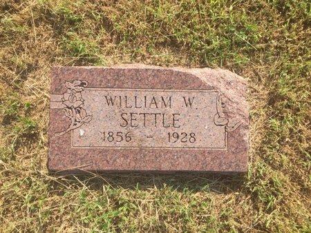 SETTLE, WILLIAM W - Alfalfa County, Oklahoma   WILLIAM W SETTLE - Oklahoma Gravestone Photos