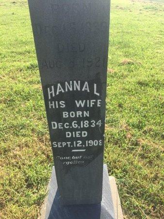 PRESSNALL SILER, HANNA L - Alfalfa County, Oklahoma | HANNA L PRESSNALL SILER - Oklahoma Gravestone Photos