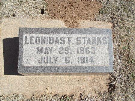 STARKS, LEONIDAS F - Alfalfa County, Oklahoma   LEONIDAS F STARKS - Oklahoma Gravestone Photos