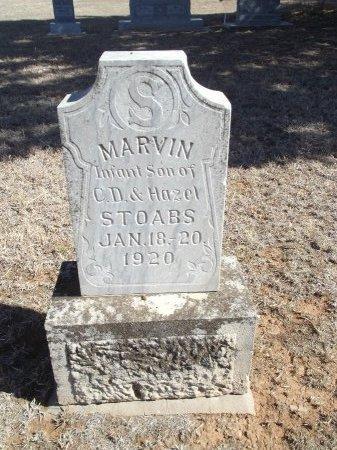 STOABS, MARVIN - Alfalfa County, Oklahoma | MARVIN STOABS - Oklahoma Gravestone Photos