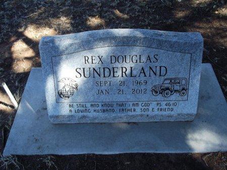 SUNDERLAND, REX DOUGLAS - Alfalfa County, Oklahoma | REX DOUGLAS SUNDERLAND - Oklahoma Gravestone Photos