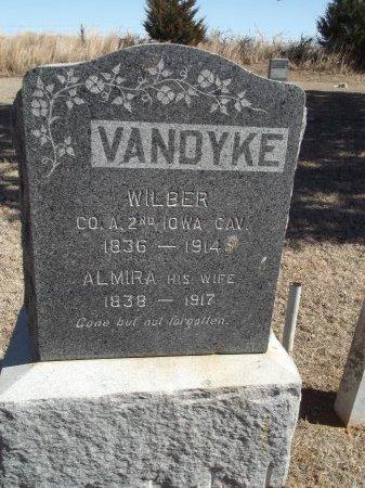 VAN DYKE, ALMIRA - Alfalfa County, Oklahoma   ALMIRA VAN DYKE - Oklahoma Gravestone Photos