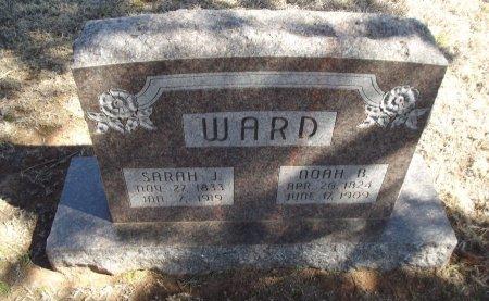 WARD, SARAH J - Alfalfa County, Oklahoma | SARAH J WARD - Oklahoma Gravestone Photos
