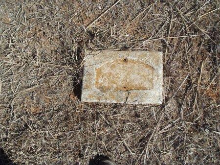 WOLD, UNKNOWN - Alfalfa County, Oklahoma   UNKNOWN WOLD - Oklahoma Gravestone Photos
