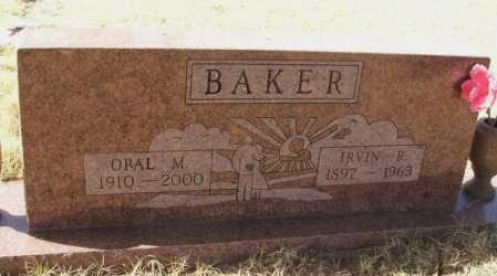 BAKER, OPAL M - Beckham County, Oklahoma | OPAL M BAKER - Oklahoma Gravestone Photos