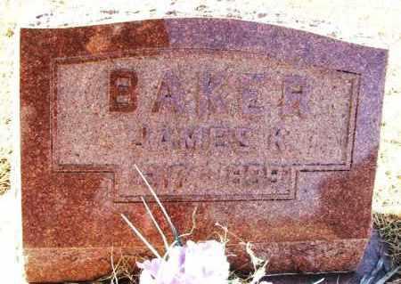 BAKER, JAMES K - Beckham County, Oklahoma   JAMES K BAKER - Oklahoma Gravestone Photos