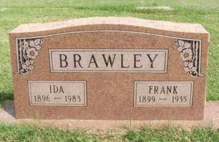 BRAWLEY, IDA - Beckham County, Oklahoma | IDA BRAWLEY - Oklahoma Gravestone Photos